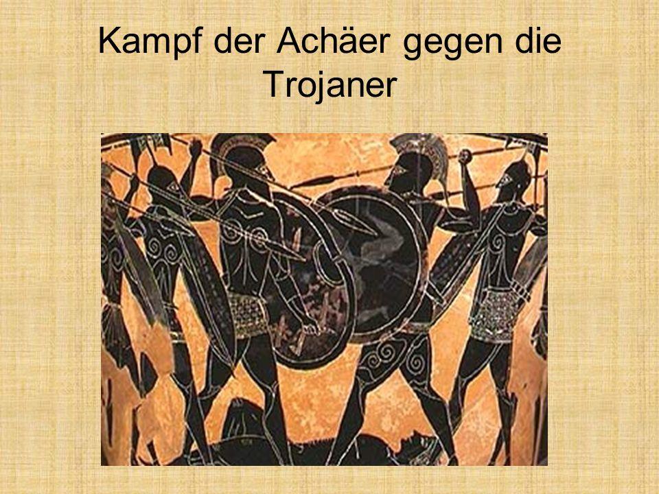Kampf der Achäer gegen die Trojaner