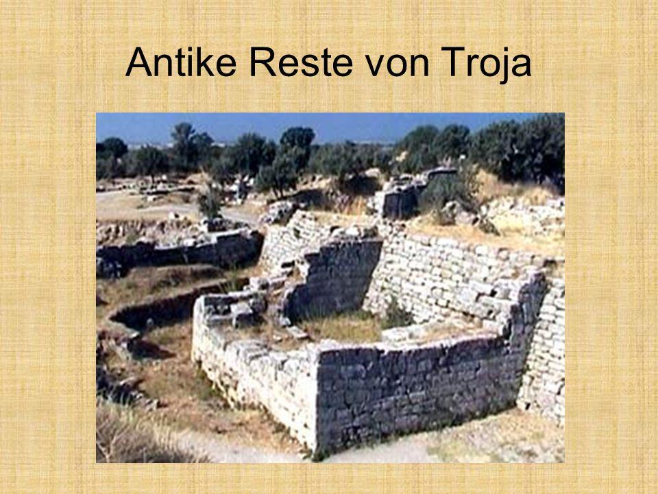 Antike Reste von Troja