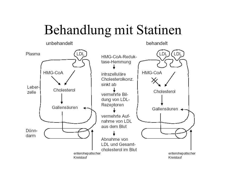Behandlung mit Statinen