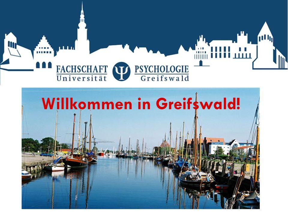 Willkommen in Greifswald!
