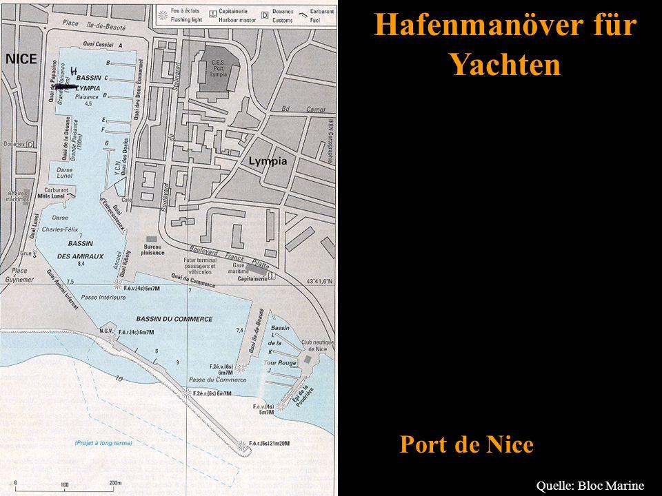Bertram Birk 2005/2009 62 Port de Nice Quelle: Bloc Marine Hafenmanöver für Yachten