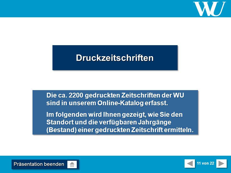 DruckzeitschriftenDruckzeitschriften Die ca.