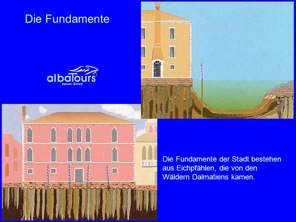 Canal Grande - Hauptverkehrsader So malte einst Canaletto das geschäftige Treiben am Canal Grande (Detail).
