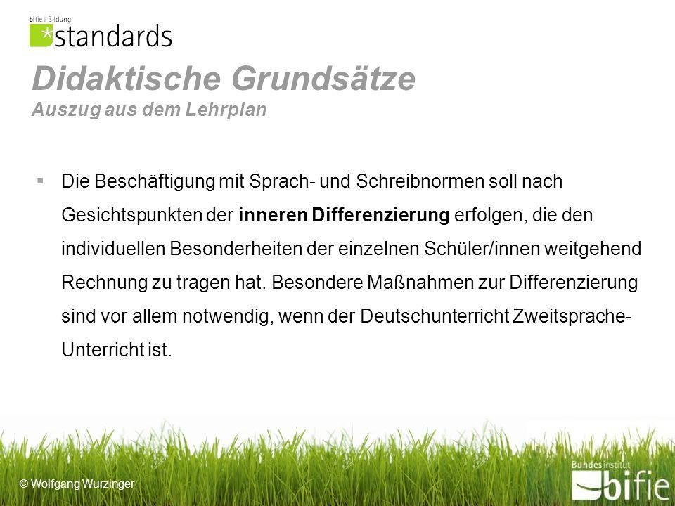 © Wolfgang Wurzinger Schul- stufe Grammatik - SatzverbindungenTextsorten 5.