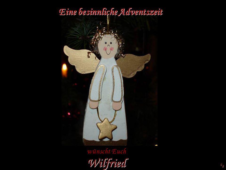 Eine besinnliche Adventszeit wünscht Euch Wilfried C S