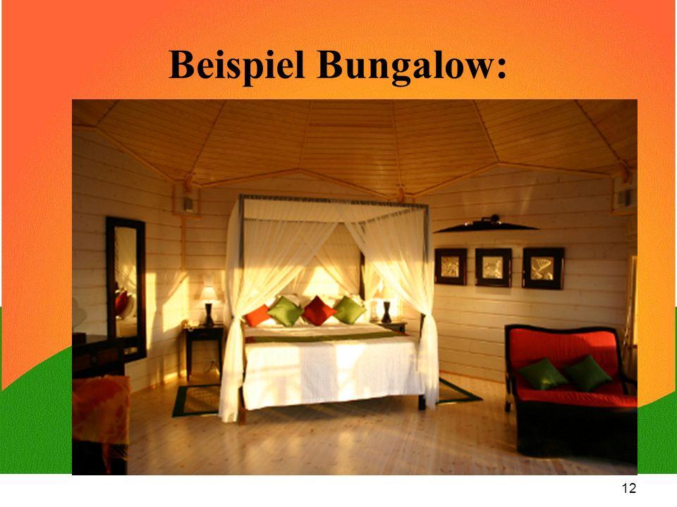 12 Beispiel Bungalow: