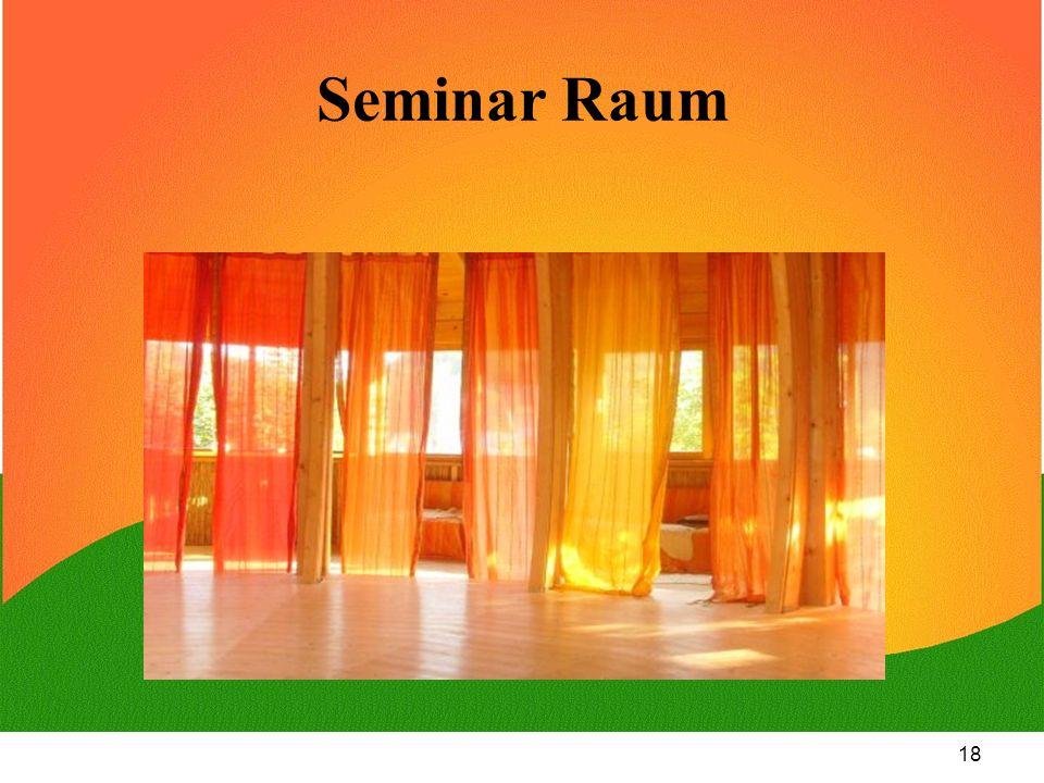 18 Seminar Raum