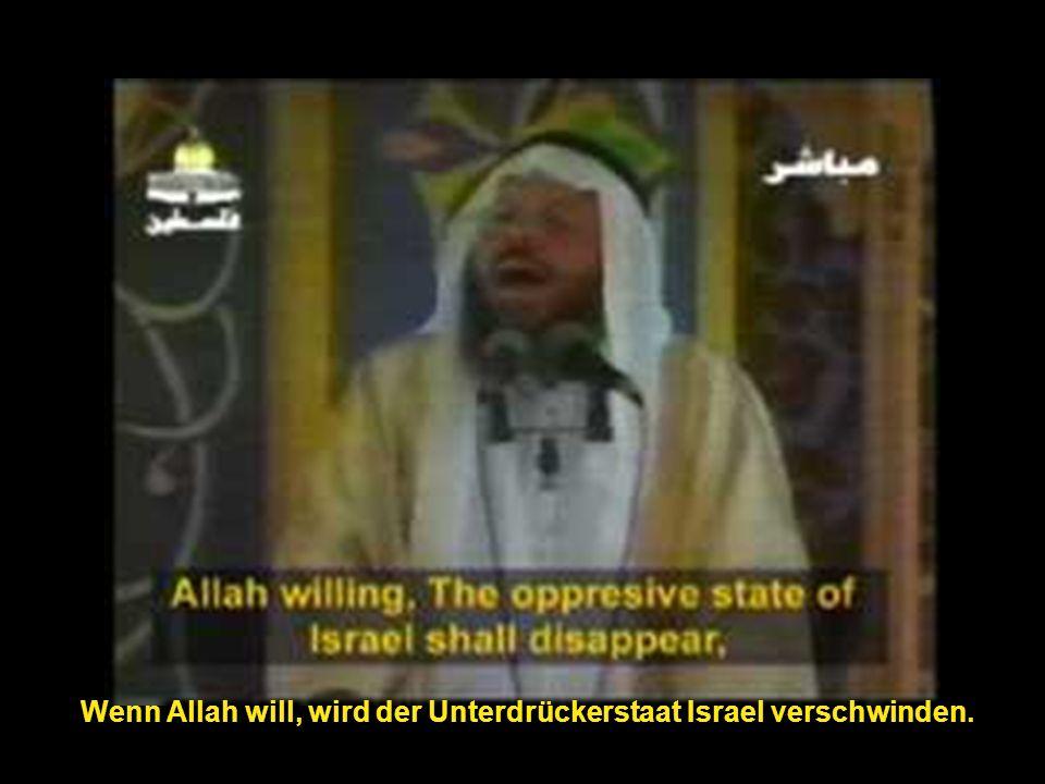 Habt kein Mitleid mit den Juden, egal, wo sie sind, in jedem Land.
