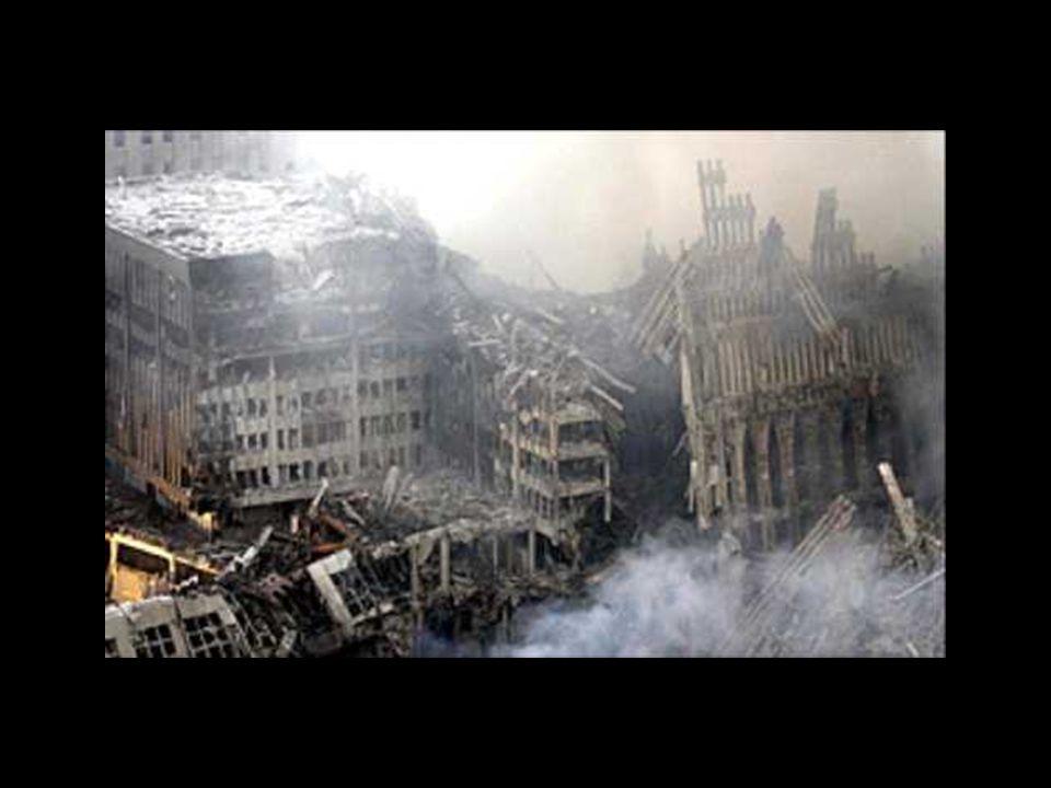 Die westliche Welt ist nicht entschieden gegen die Terrorgruppen und Länder, die sie unterstützen, vorge- gangen.