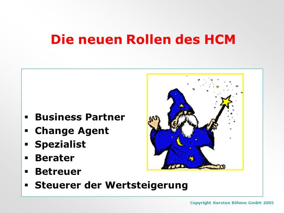 Copyright Karsten Böhme GmbH 2005 Faktoren, die Werte schaffen Differenzierung des Unternehmenswertes Führungsqualität (Systeme, Innovationsfähigkeit,