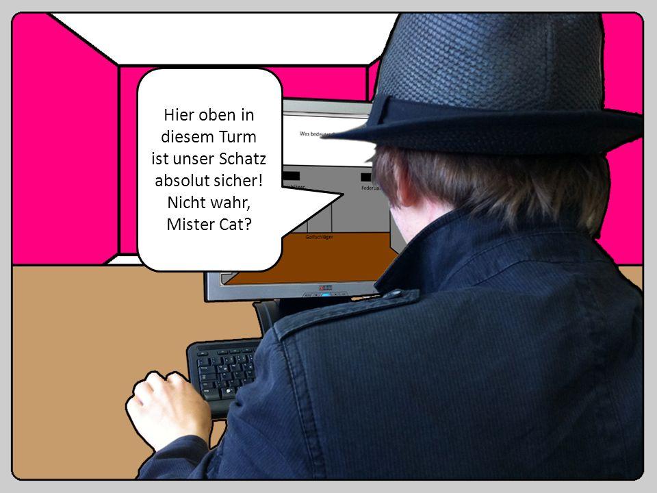 Fange Mister Cat! Pass auf, er ist sehr wütend! Stufe l