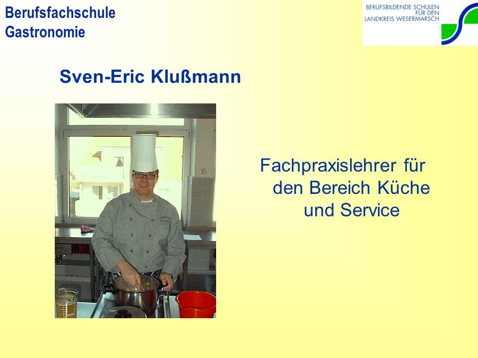 Berufsfachschule Gastronomie Die Lehrerinnen und Lehrer der einjährigen Berufsfachschule Gastronomie stellen sich vor!