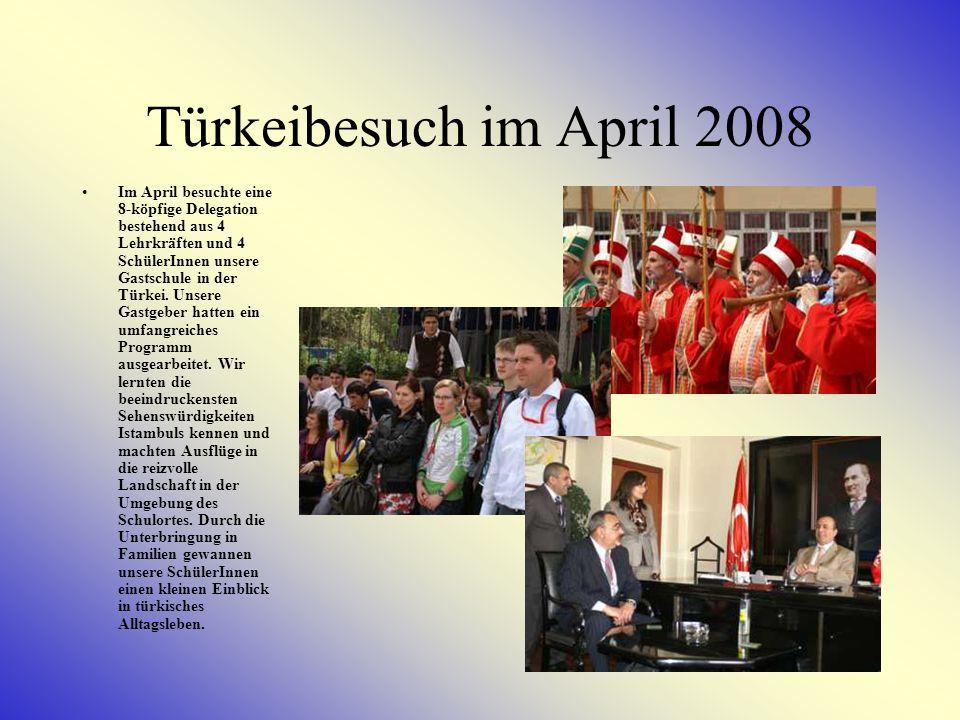 Polenbesuch im März 2008 Lehrkräfte und SchülerInnen unserer Schule sammelten im Rahmen des Comeniusprojektes Erfahrungen im benachbarten Polen.