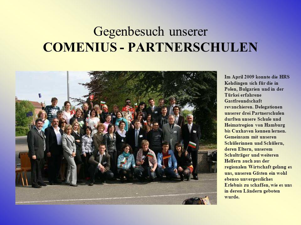 BULGARIENBESUCH Oktober 2008 Der Besuch unserer Partnerschule in Berkovitsa verlief nach bewährtem Muster.