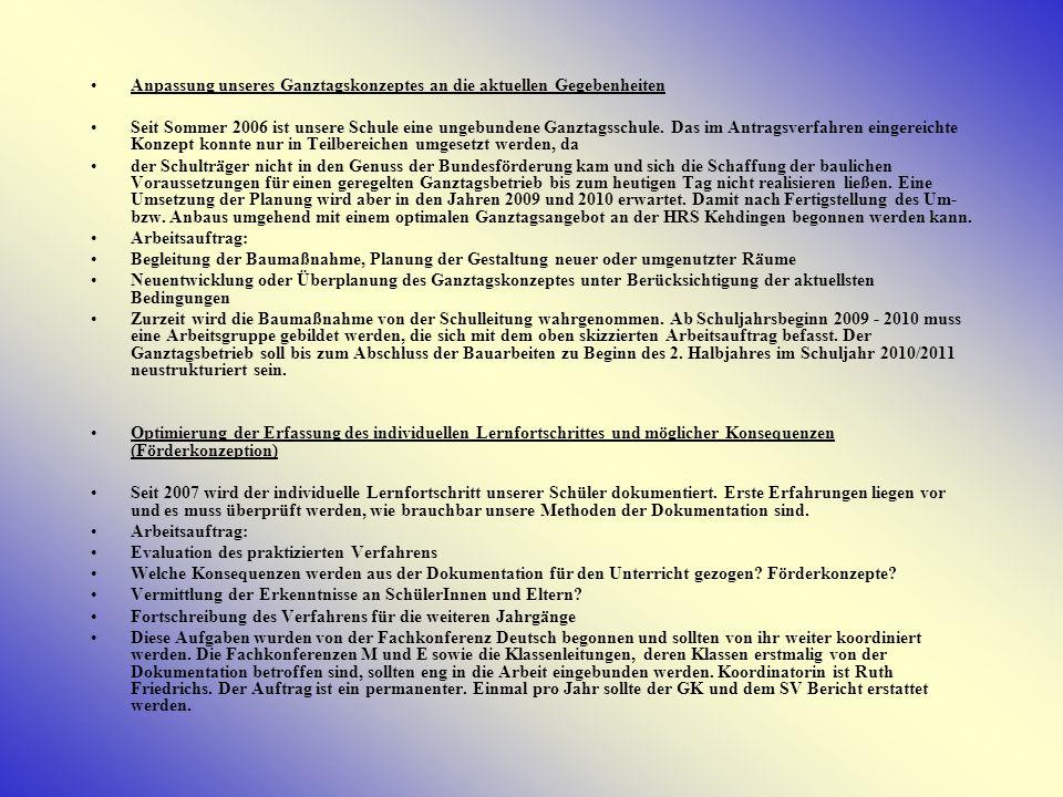 Fortentwicklung des Unterrichtsprojektes Mittelalterdorf Op de Hörn Seit 1996 verfügt die HRS Kehdingen über einen eigenen außerschulischen Lernort, das Mittelalterdorf Op de Hörn.