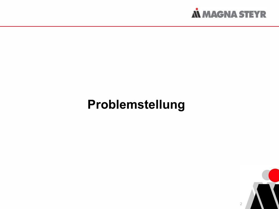 2 Problemstellung