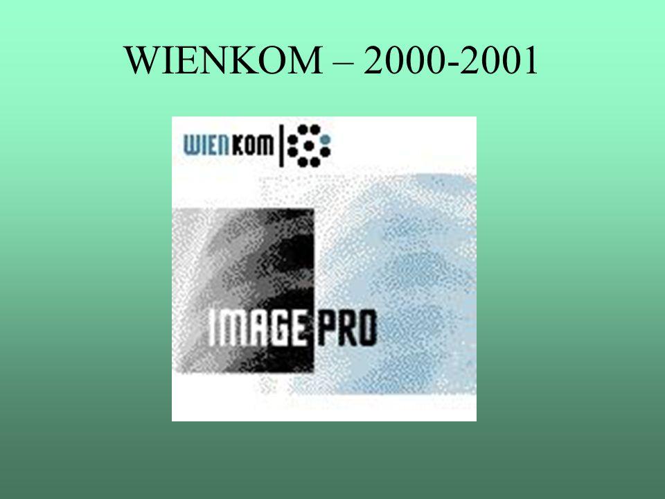 WIENKOM – 2000-2001