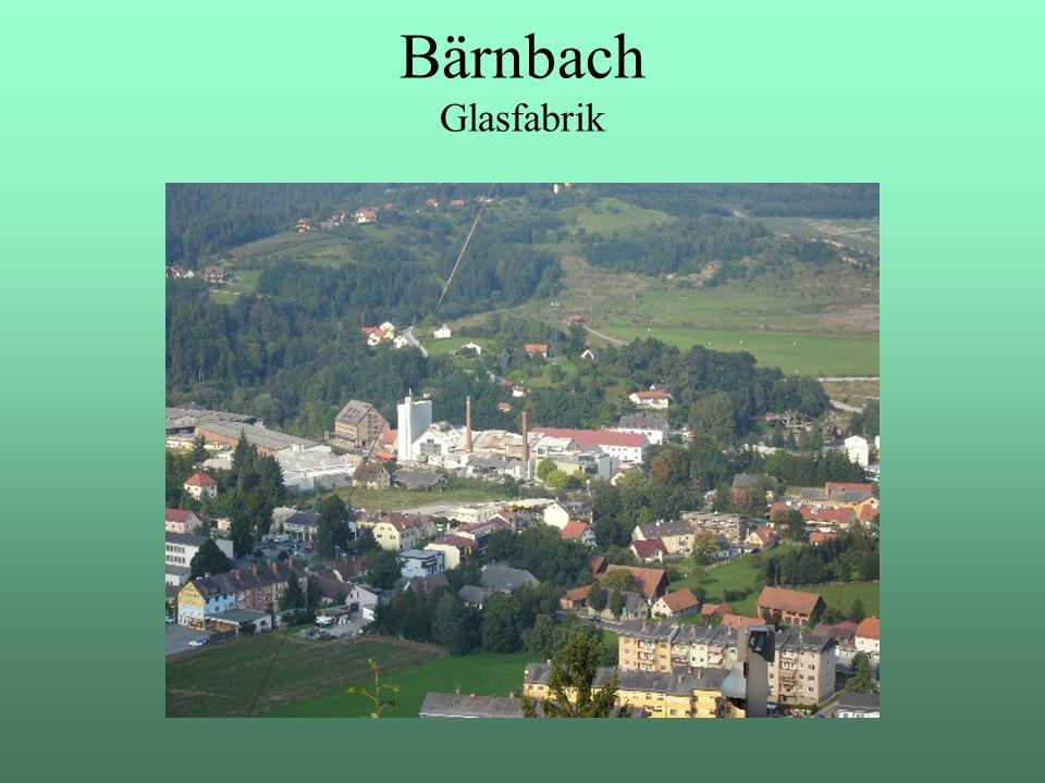 Bärnbach Glasfabrik