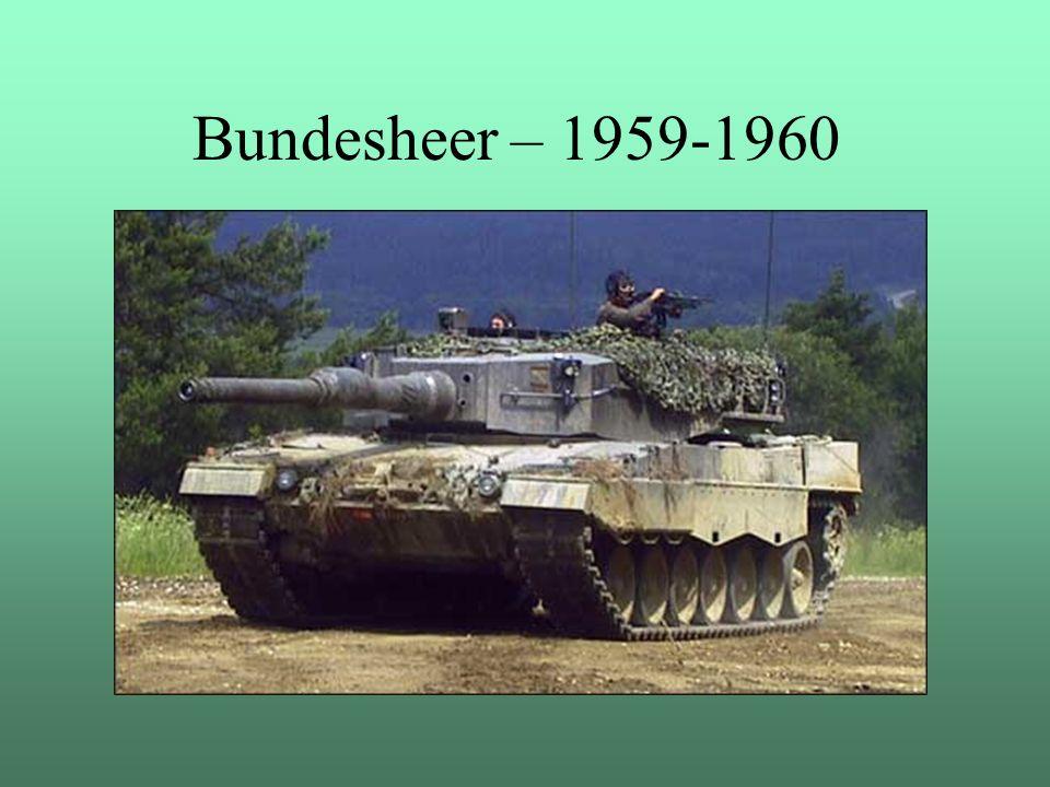 Bundesheer – 1959-1960