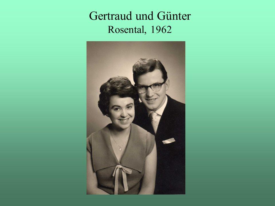 Gertraud und Günter Rosental, 1962