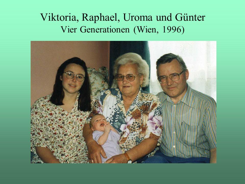 Viktoria, Raphael, Uroma und Günter Vier Generationen (Wien, 1996)