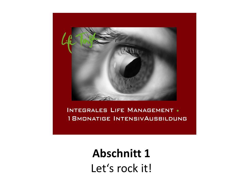 Abschnitt 1 Lets rock it!