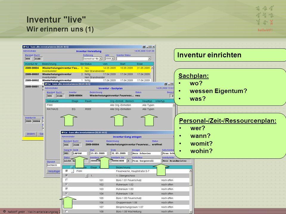 hallobtf! gmbh / Kai-Inventarisierungstag 2010 / Seite 17 Inventur