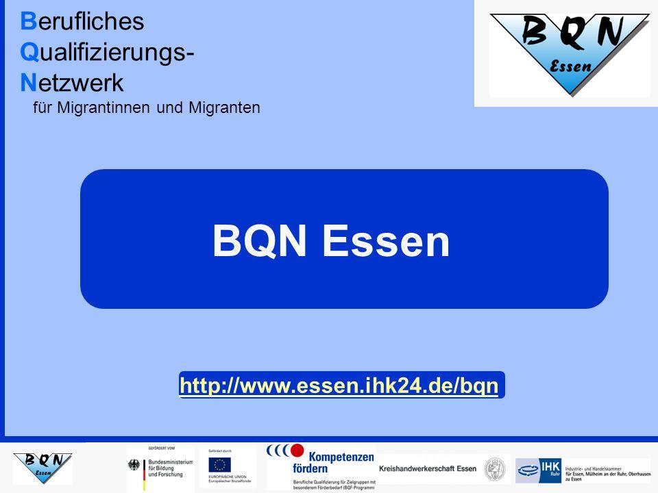 Hintergrund Eine nachhaltige Integration der Migrantinnen und Migranten in der deutschen Gesellschaft findet im Wesentlichen über Schule und Beruf statt.