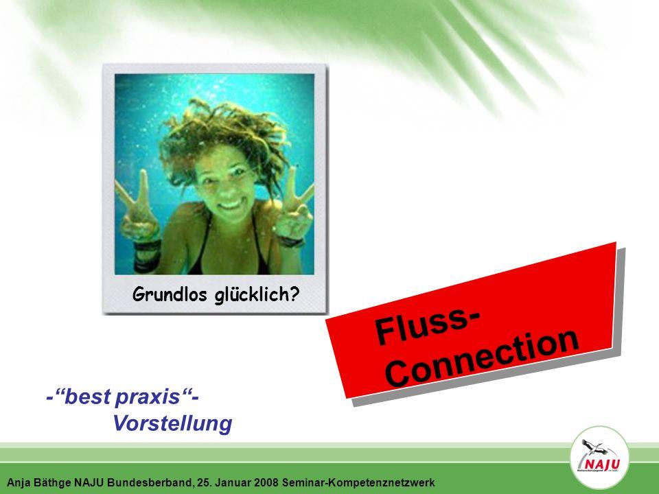 F l u s s - C o n n e c t i o n -best praxis- Vorstellung Grundlos glücklich.