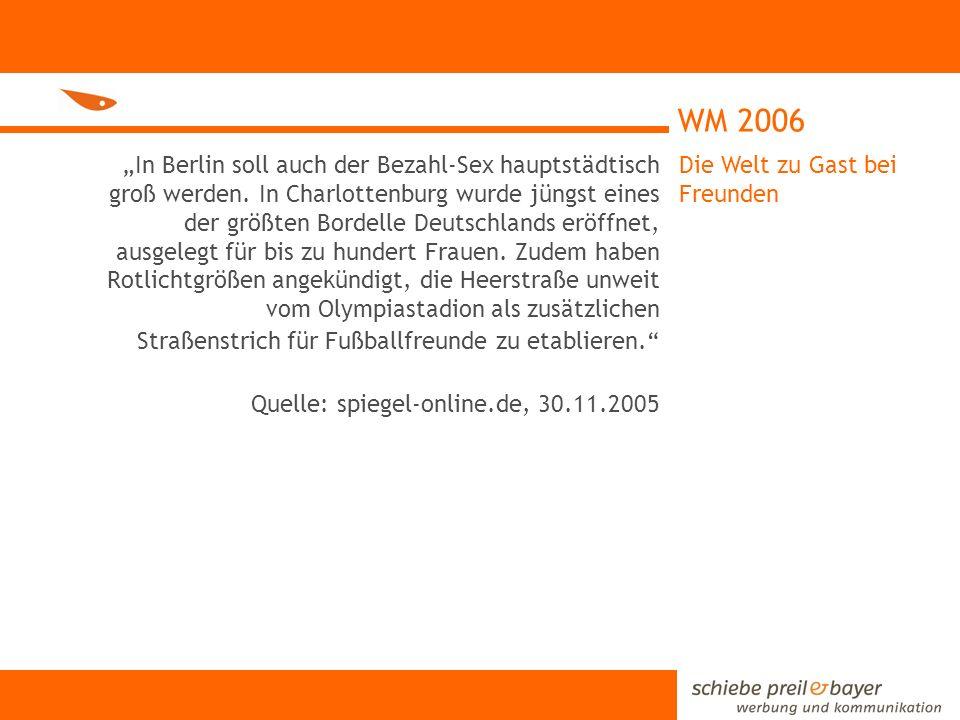 WM 2006 Grund genug bereits im Vorfeld der Fußballweltmeisterschaft über die Arbeit von BAN YING zu informieren.