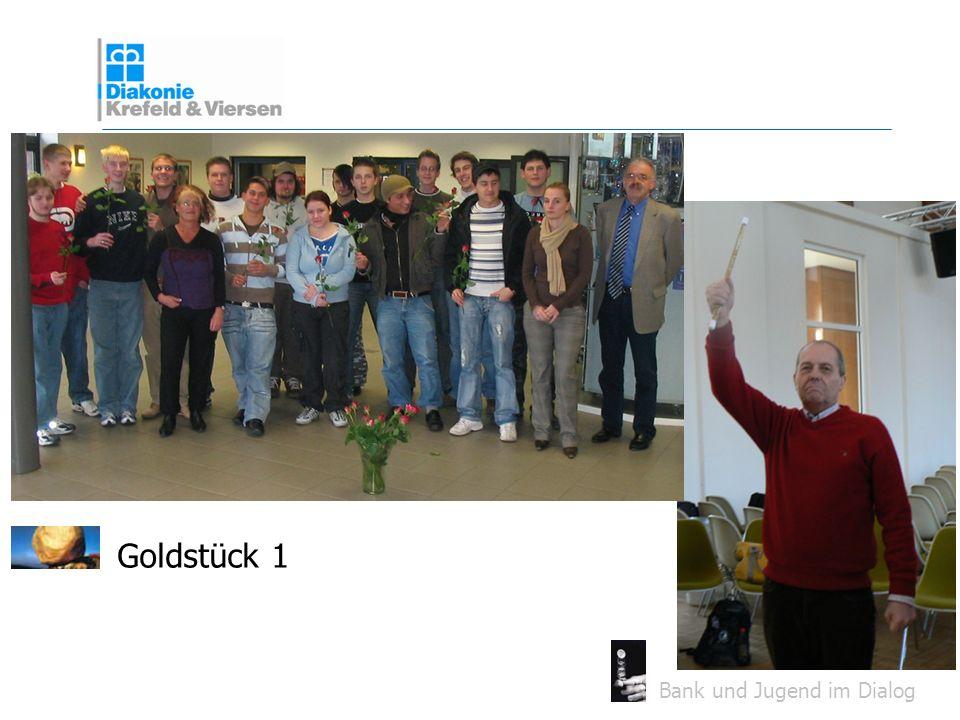 Bank und Jugend im Dialog Goldstück 1