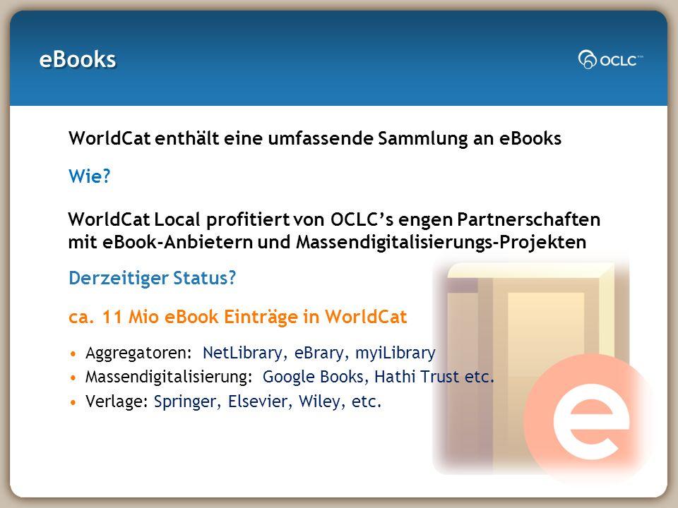 eBooks WorldCat enthält eine umfassende Sammlung an eBooks Wie.