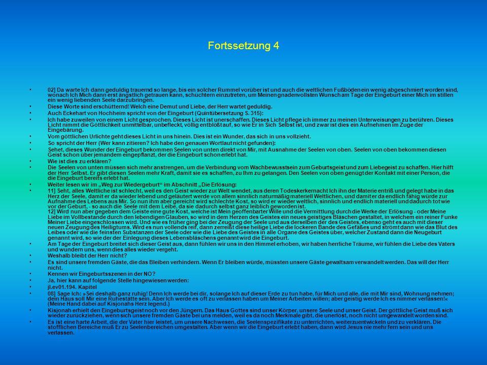 Fortsetzung 3 Dies unterscheidet wahre Christen, die Jesus als Gott annehmen, von Andersgläubigen, die dies nicht tun. Ohne Mein Wort kommt dieser Fun