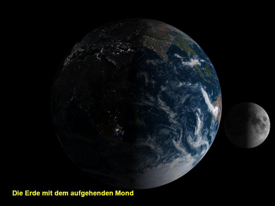 Die Erde ohne Wolken
