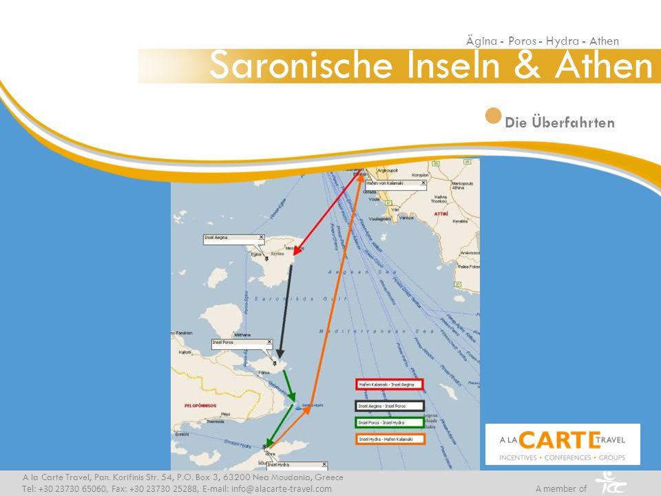 Die Überfahrten A la Carte Travel, Pan. Korifinis Str.