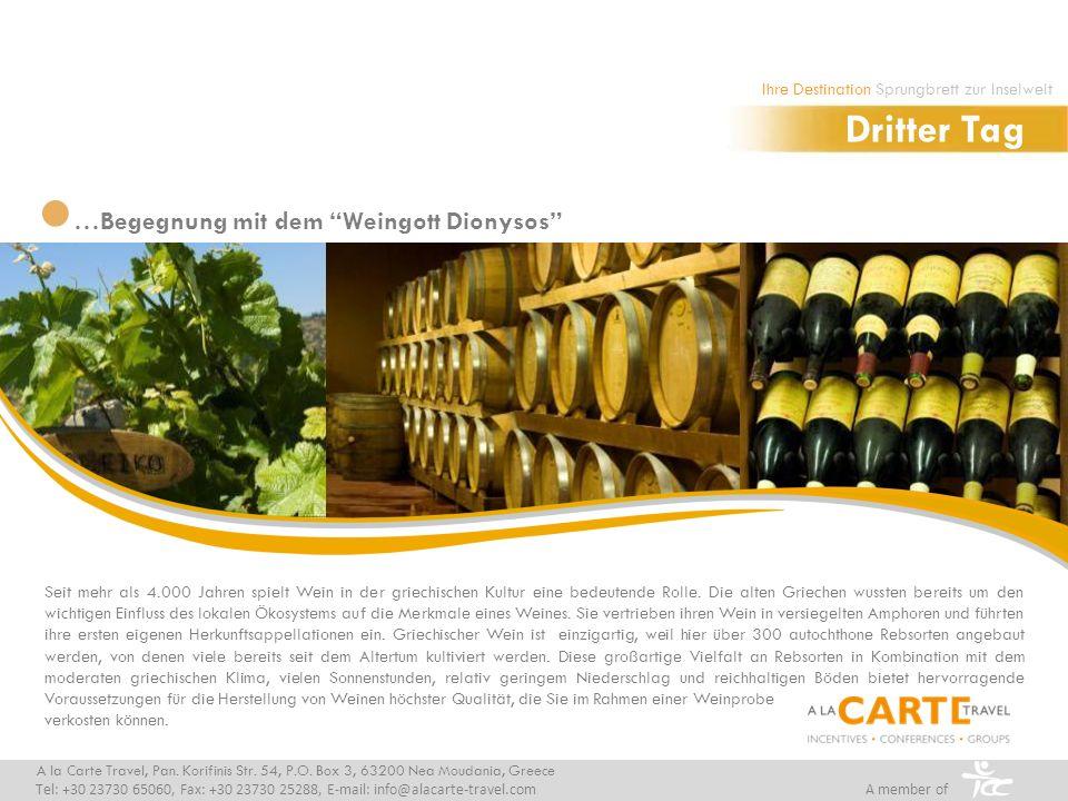 Seit mehr als 4.000 Jahren spielt Wein in der griechischen Kultur eine bedeutende Rolle.