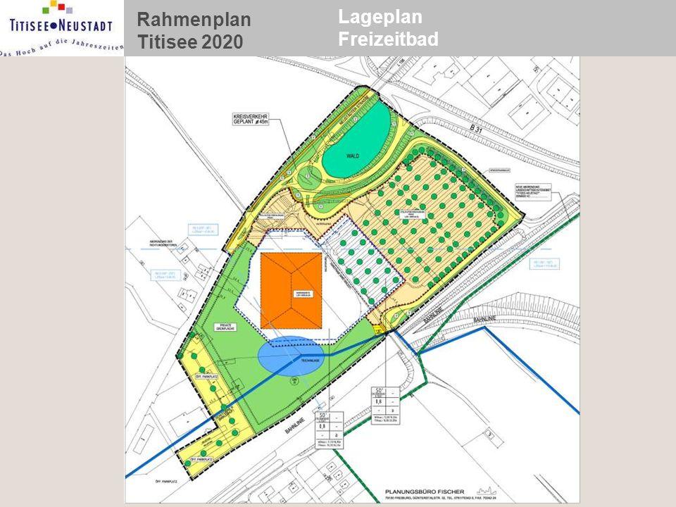 Rahmenplan Titisee 2020 Lageplan Freizeitbad