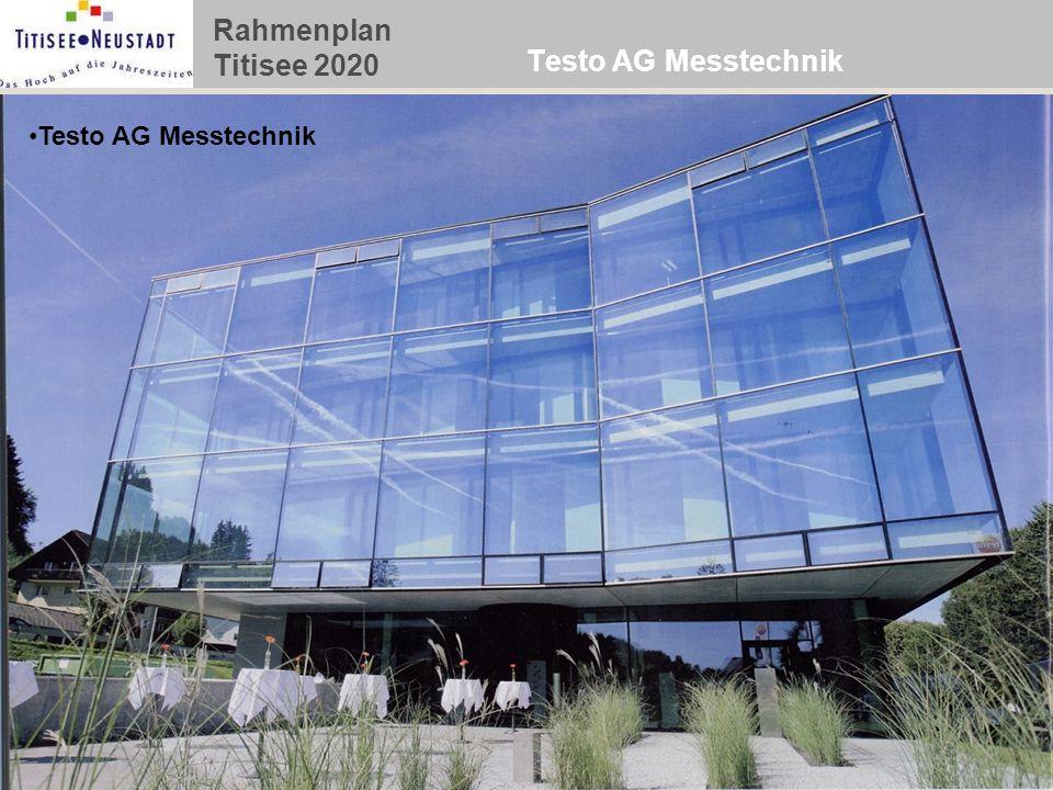 Rahmenplan Titisee 2020 Testo AG Messtechnik
