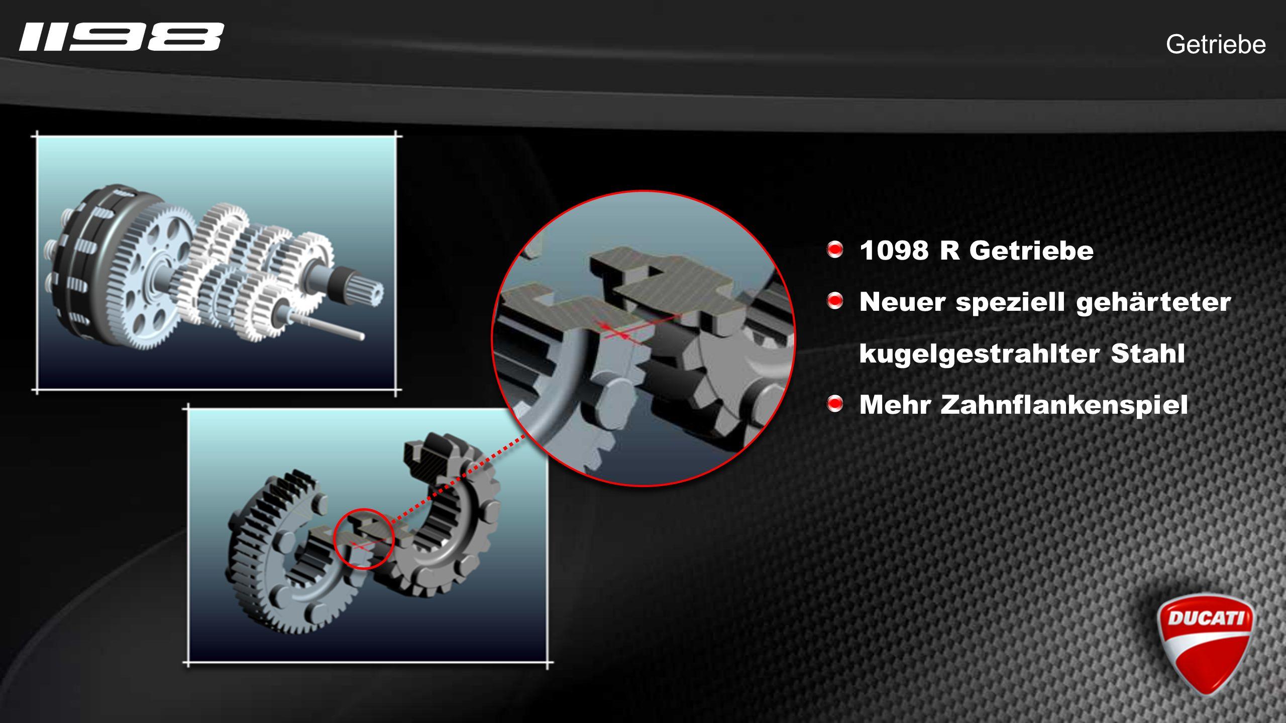 1098 R Getriebe Neuer speziell gehärteter kugelgestrahlter Stahl Mehr Zahnflankenspiel Getriebe