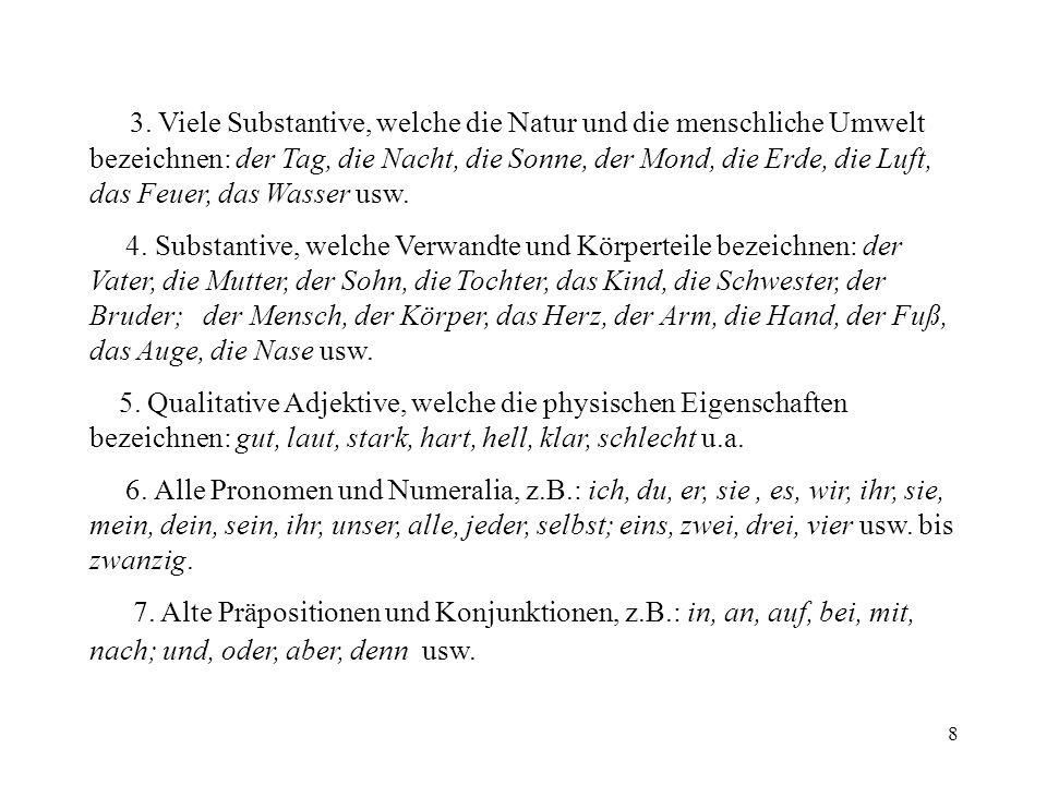 19 1.Lexikographie als linguistische Disziplin Der Wortschatz der deutschen Sprache wird von Wörterbüchern und Le- xika erfasst.