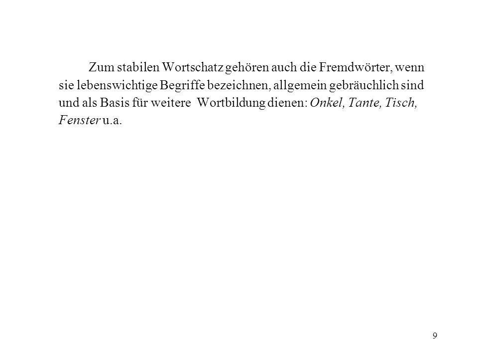 Aufgaben zum Vortrag 2 Lexikographie 1.
