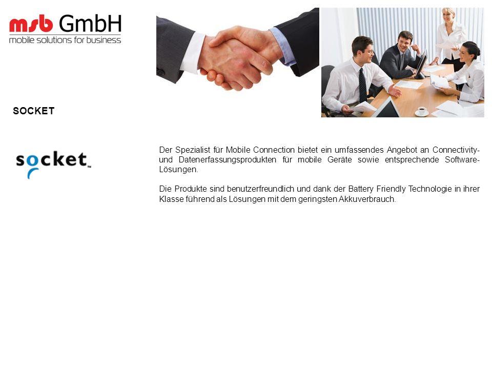 Der Spezialist für Mobile Connection bietet ein umfassendes Angebot an Connectivity- und Datenerfassungsprodukten für mobile Geräte sowie entsprechende Software- Lösungen.
