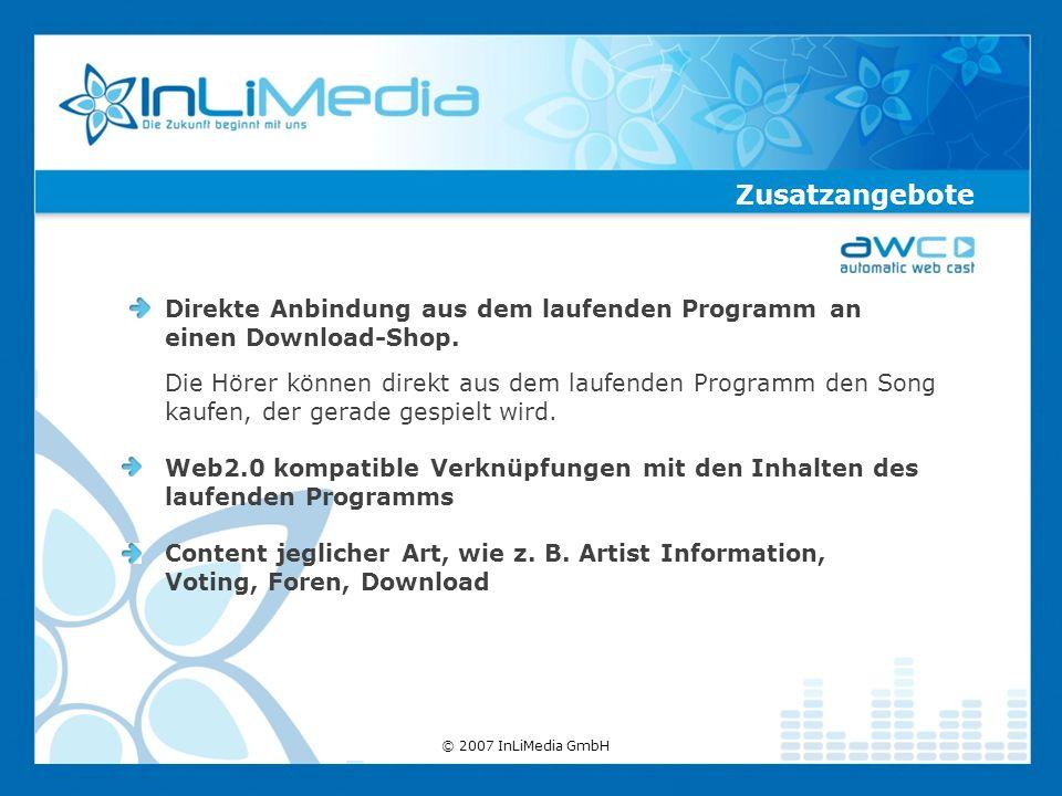 Direkte Anbindung aus dem laufenden Programm an einen Download-Shop.