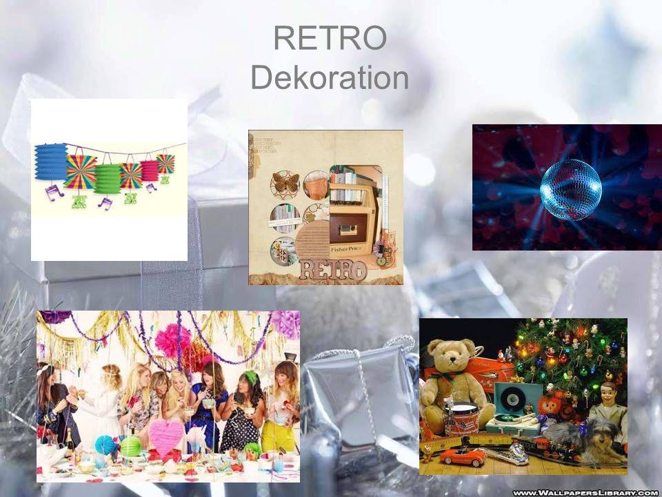 RETRO Dekoration