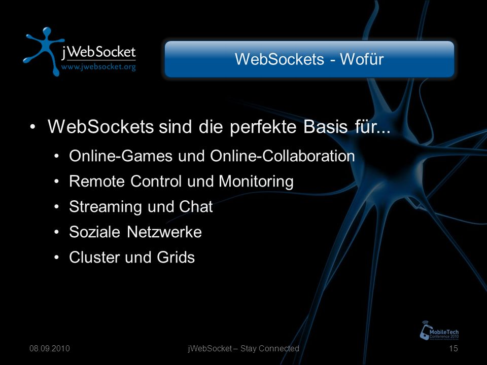 WebSockets - Wofür WebSockets sind die perfekte Basis für...