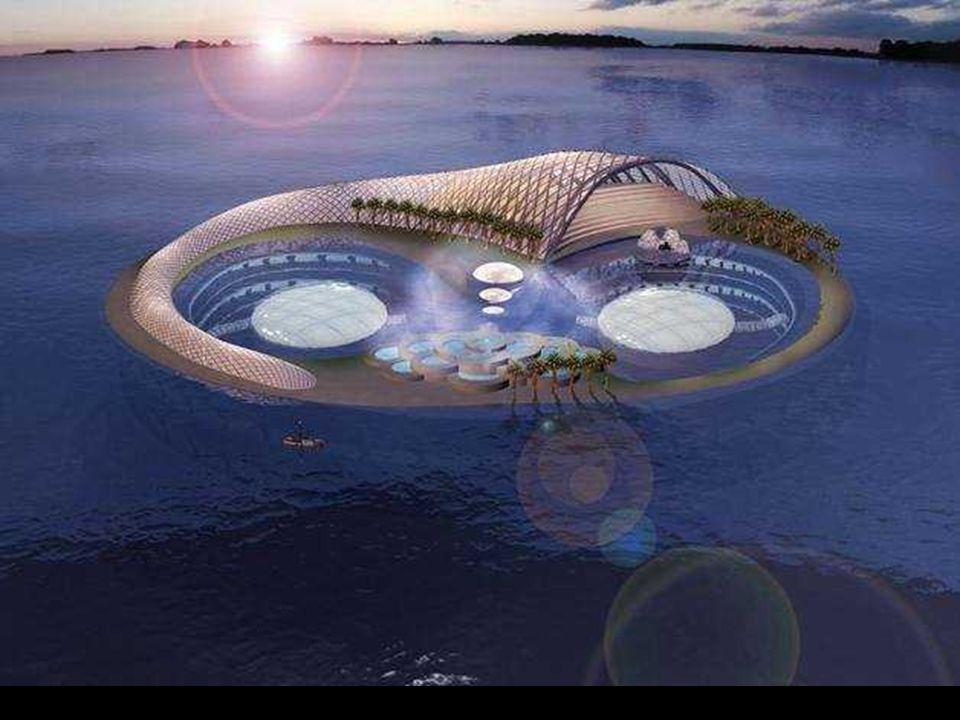 Hydropolis, il primo hotel subacqueo Hydropolis, das erste Hotel unter Wasser Costruito interamente in Germania e quindi montato a Dubai. Apertura pre