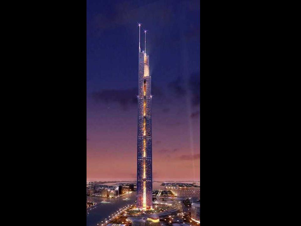 Il Burj Dubai sarà il nuovo centro dello Skyline di Dubai. Das Burj Dubai wird das neue Zentrum der Skyline von Dubai werden.
