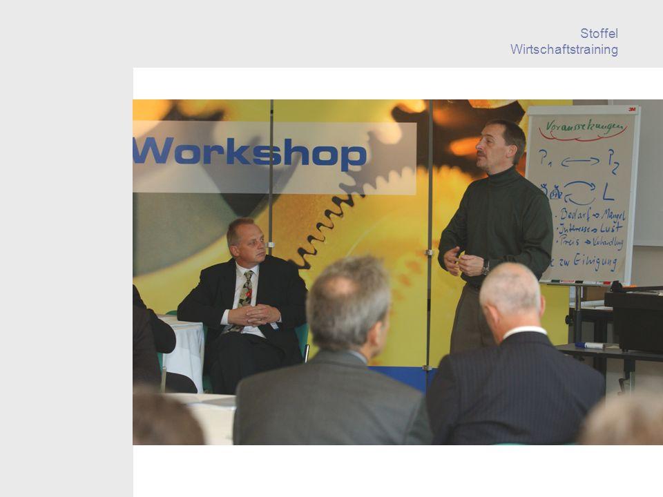 Stoffel Wirtschaftstraining 3 Durchgeführte Projekte Profil Ausbildung Arbeitsschwer- punkte Projekte Referenzen