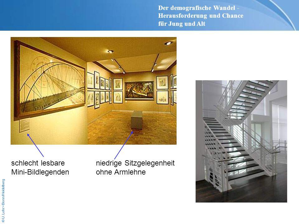 © U. Lehr Bonn/Heidelberg niedrige Sitzgelegenheit ohne Armlehne schlecht lesbare Mini-Bildlegenden Der demografische Wandel - Herausforderung und Cha