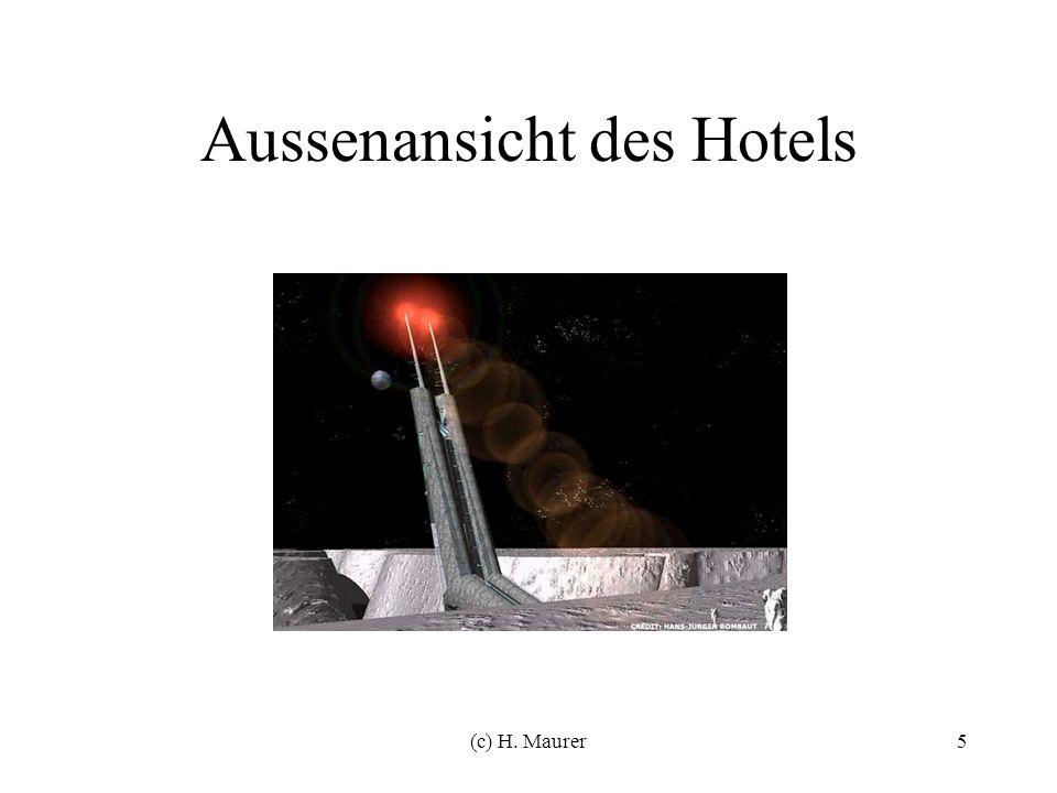 (c) H. Maurer5 Aussenansicht des Hotels